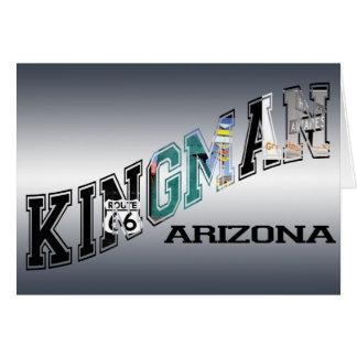 kingman arizona route 66 card