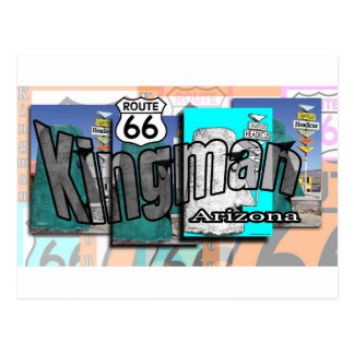 Kingman Arizona Route 66 Postcard