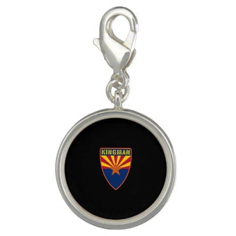 Kingman Arizona Shield Charm