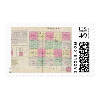 Kingman County, Kansas Stamp