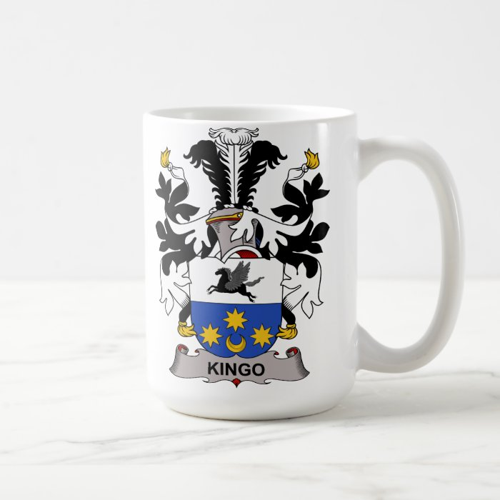 Kingo Family Crest Coffee Mug