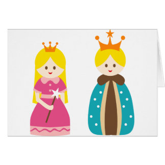 KingQueen1 Greeting Cards