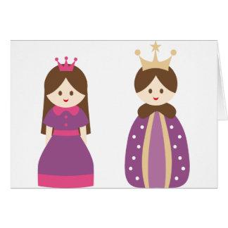 KingQueen2 Greeting Card