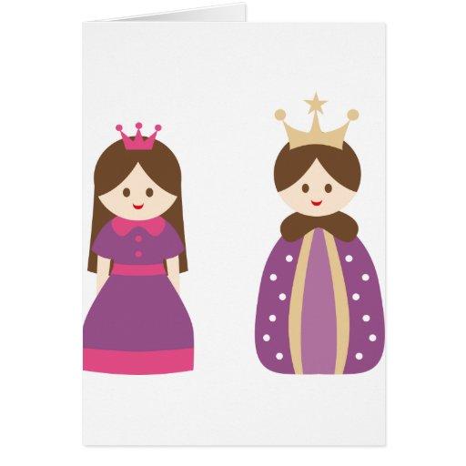 KingQueen2 Tarjeta De Felicitación