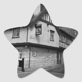 Kings arms. The pub that floods. Star Sticker