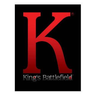 KING'S BATTLEFIELD POSTCARD