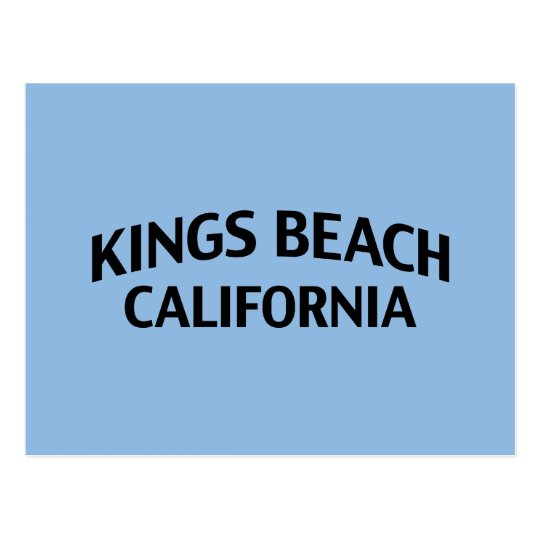 Kings Beach California Postcard