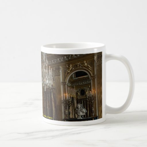 King's bed chamber, Palace of Versailles, France Coffee Mugs
