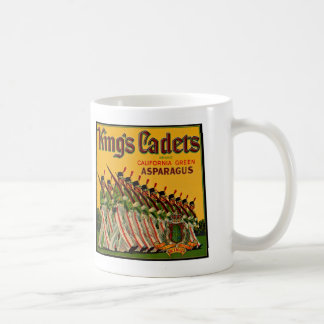 King's Cadets Asparagus Label Coffee Mug