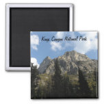 Kings Canyon National Park 2 Inch Square Magnet