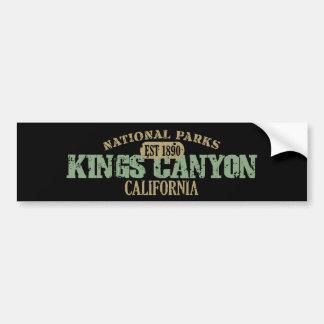 Kings Canyon National Park Bumper Sticker