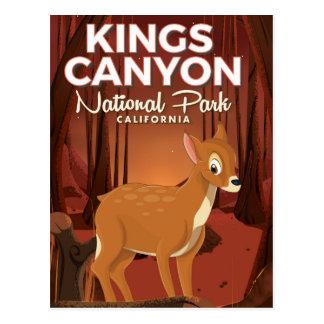 Kings Canyon national park California Postcard
