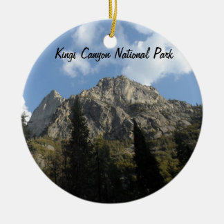 Kings Canyon National Park Ceramic Ornament