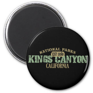 Kings Canyon National Park Refrigerator Magnets