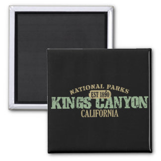 Kings Canyon National Park Magnet