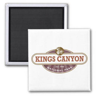 Kings Canyon National Park Refrigerator Magnet