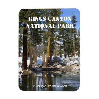 Kings Canyon National Park Magnet Rectangle Magnets