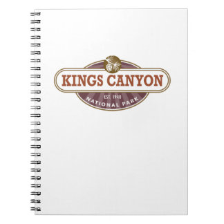 Kings Canyon National Park Notebook