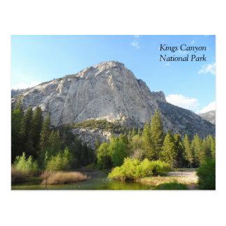 Kings Canyon National Park Postcard