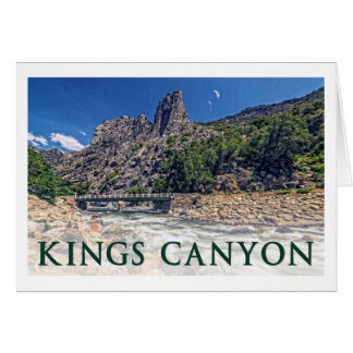KINGS CANYON National Park Scenic Byway Card