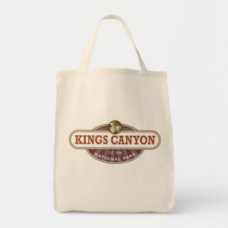Kings Canyon National Park Tote Bag