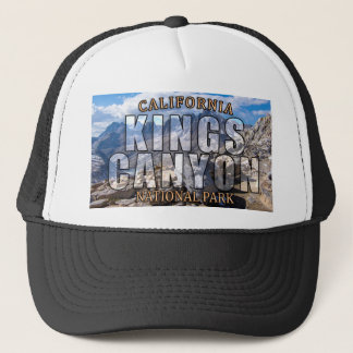 Kings Canyon National Park Trucker Hat