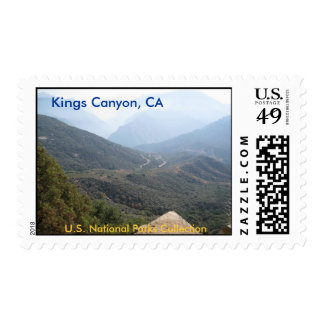 Kings Canyon NP Stamp