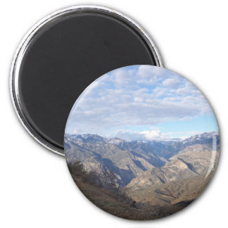 Kings Canyon Overlook 2 Inch Round Magnet