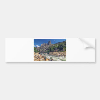 Kings Canyon Scenic Byway View Car Bumper Sticker