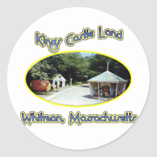 Kings Castle Land Classic Round Sticker