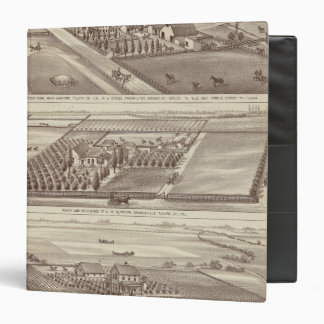 Kings Co ranches 3 Ring Binder