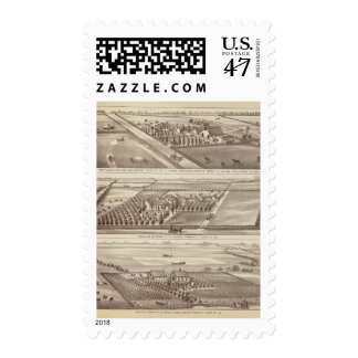 Kings Co ranches Postage
