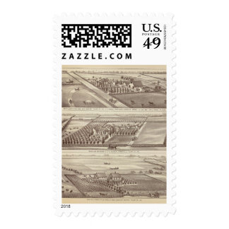 Kings Co ranches Postage Stamps