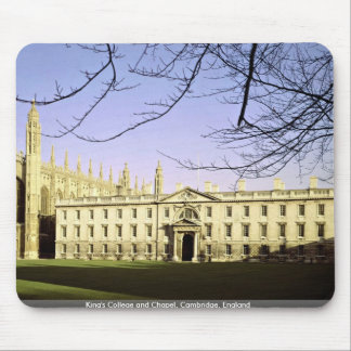 King's College and Chapel, Cambridge, England Mouse Pad