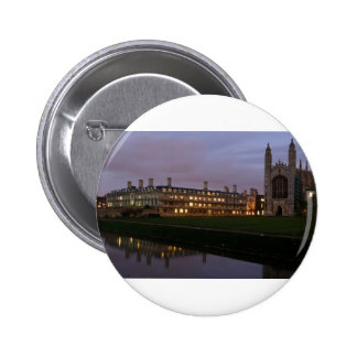 Kings college Cambridge 2 Inch Round Button