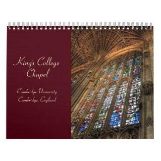 King's College Chapel 2010 Calendar calendar