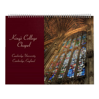 King's College Chapel 2010 Calendar