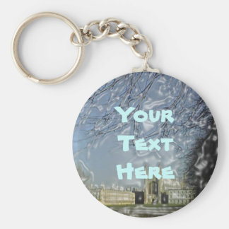 King's College Chapel Keychain