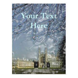 King's College Chapel Postcard