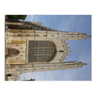 Kings College Chappel At Cambridge In Uk Postcard