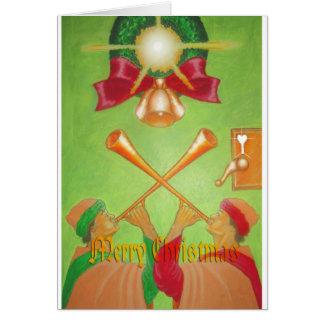 Kings Court Christmas Greeting Card