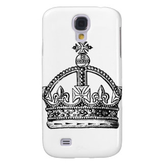 King's Crown background Samsung Galaxy S4 Case
