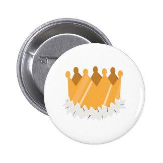 Kings Crown Pin