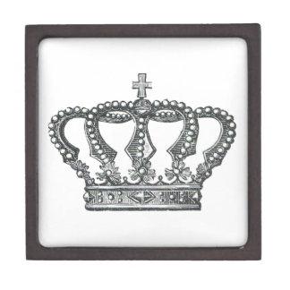 King's Crown Jewelry Box