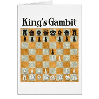 King's Gambit Card