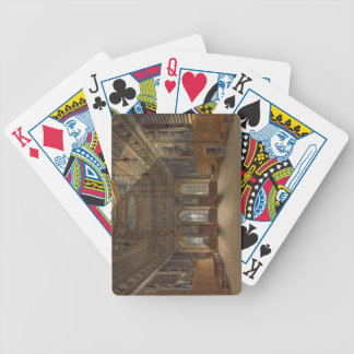 King's Guard Chamber, Windsor Castle, from 'Royal Bicycle Playing Cards