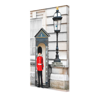 King's Guard of London Canvas Gallery Wrap Canvas
