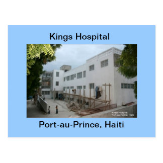 Kings Hospital Postcard