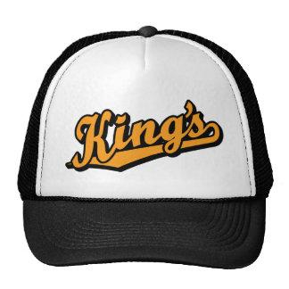 King's in Orange Trucker Hat