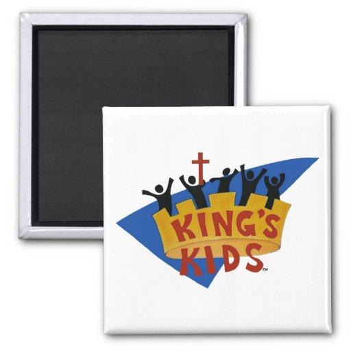 King's Kids Logo Magnet